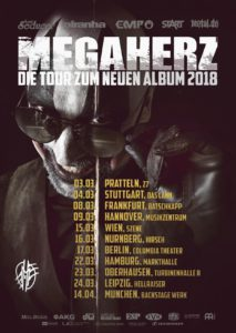 MEGAHERZ - Tourplakat 2018